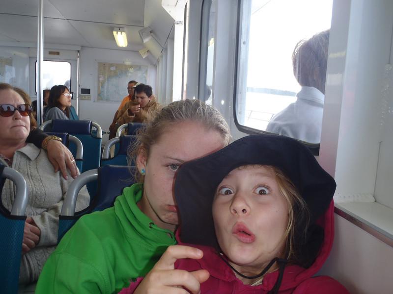 On the lighthouse tour