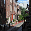 Elfreth's Alley - the oldest street in the United States