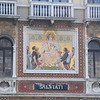 Ital0080 Gorgeous mosaics and embellishments adorn the former canal-side homes of the wealthy   The Salviati's were glass makers and mosaicists in Venice, Murano, and London