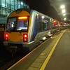 3006 arrived at Belfast Central off the 1828 from Londonderry, some 45 minutes late 031111