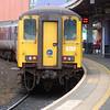 8452 on the 1312 Belfast Central / Carrickfergus seen before departure 041011