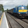 112 passes Donabate with the 1025 Whitehead / Dublin Connolly. 080911