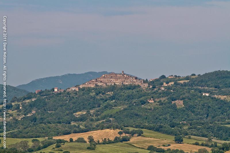 View from Montesiepi, San Galgano's hermitage