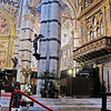 The interior of Siena's cathedral (Duomo)