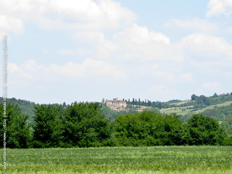 The Tuscan country side