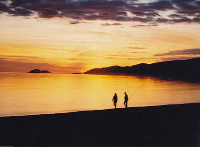 Agawa Canyon 1997 - Sunset