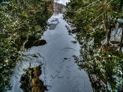 Elora Gorge in Winter