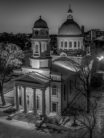 St George's Cathedral (BW)