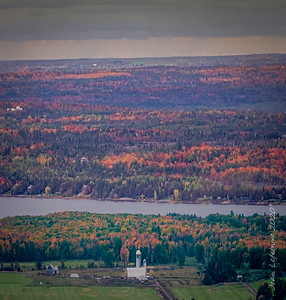 The Ottawa Valley from the Gatineau Hills