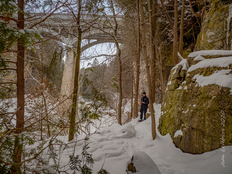 Elora Gorge in winter