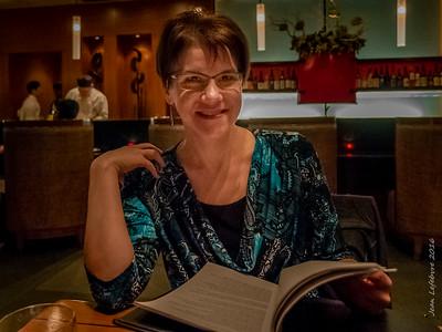 Cathy at Ki Restaurant in Toronto