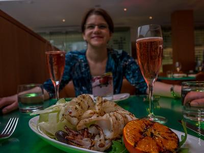 Sqid and Champagne ... Why Not!