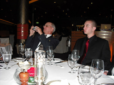 J.R. and Jeff at first formal dinner