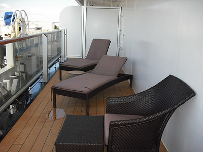 Part of our wraparound deck