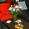 Beautiful roses for our 60th Anniversary from April and Jim