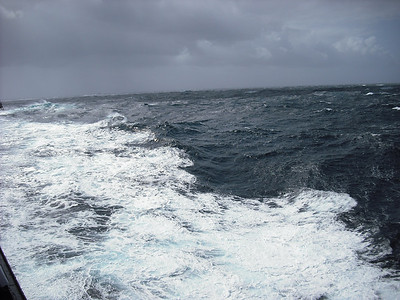 Some very rough seas