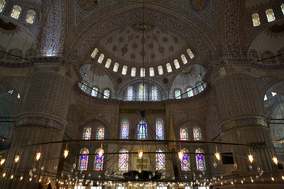 The Blue Mosque, Istanbul.
