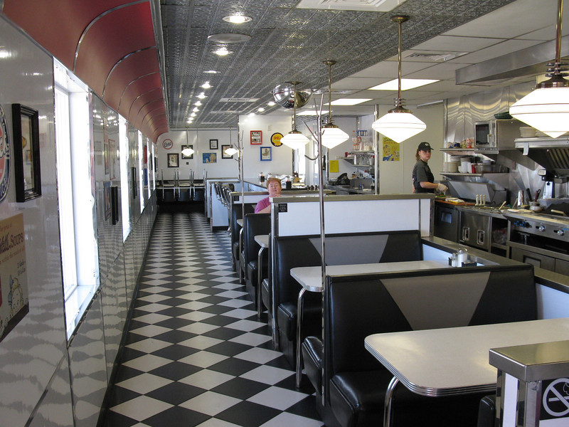 Penny's Diner. Open 24/7 for the railroad crews.