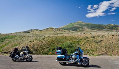 Bikes in the Humbolt Range in Nevada