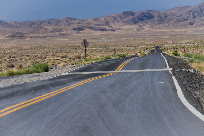 Loneliest Road in America, Nevada