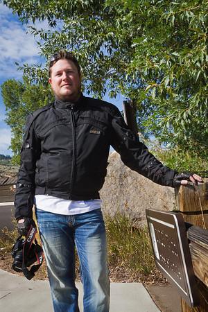 Bryan at Blue Mesa Lake, Colorado