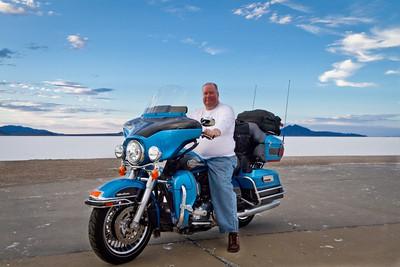 Doug at Great Salt Flats