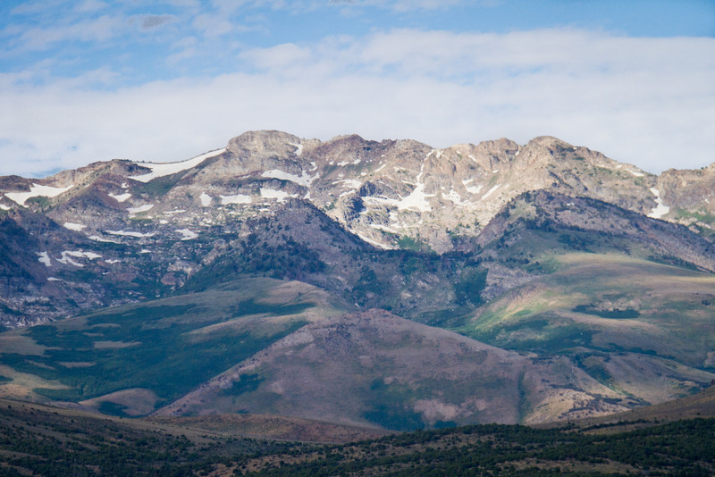 Humbolt Range in Nevada