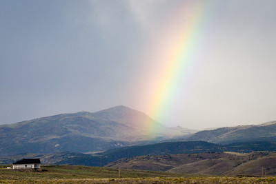 Rainbow on Route 50 near Torrey, Utah (3)