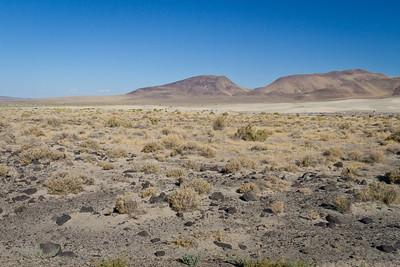 Desert along Route 50