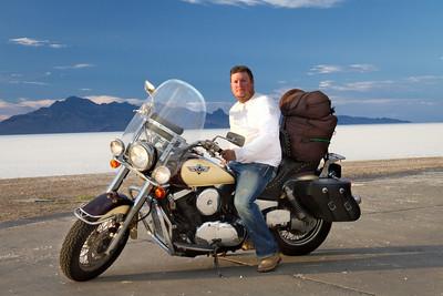 Bryan at Great Salt Flats
