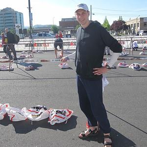 Run bag check Boise Ironman 70.3