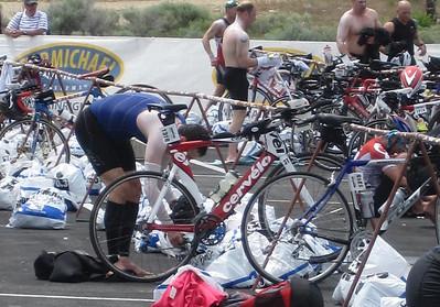 T1 Boise Ironman 70.3