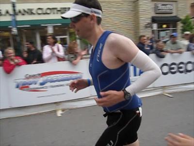 Finish line Boise Ironman 70.3