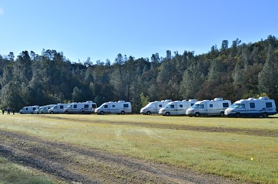 Rialtas all lined up.  One more was parked near the ranch house.