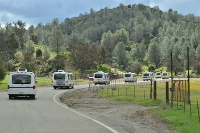 The Rialtas caravan from Livermore to the Ranch.