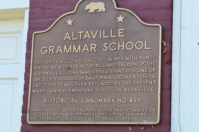Altaville Grammar School - Altaville, California