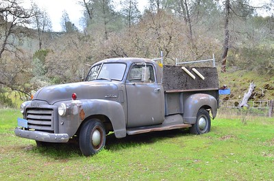 This old truck was parked on the property.