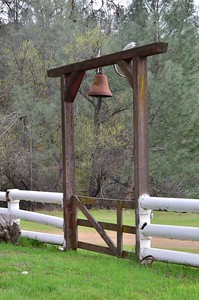 The gate to the Ranch house.