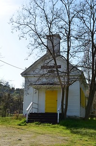 Douglas Flat School - Murphys, California