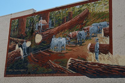 Mural in Centralia, Washington