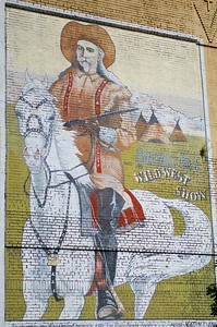 Buffalo Bill Mural in Centralia, Washington
