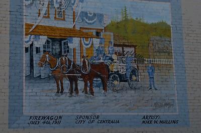 Mural in Centralia, Washington