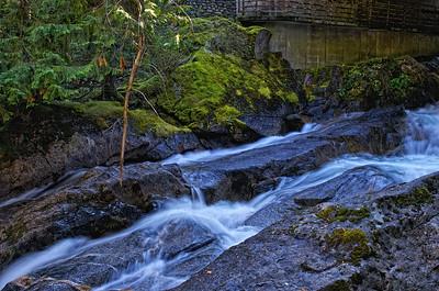 Deception Falls - Steven's Pass - Hwy 2 - Washington