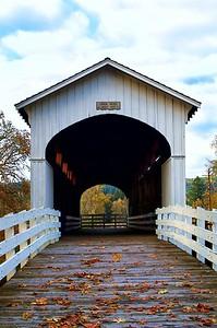 Currin Bridge built in 1926 - Cottage Grove, Oregon