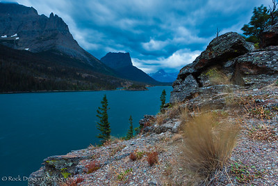 Sun Point in Glacier National Park, Montana.