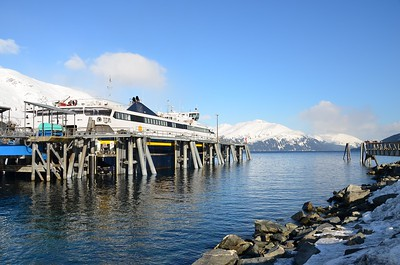 The Chenega Ferry at Whittier, Alaska - March 2011
