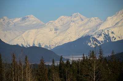 Turnagain Arm from Turnagain Pass - Alaska