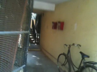 Video of a short walk from the ground to the rooftop of our old apartment at IISc.