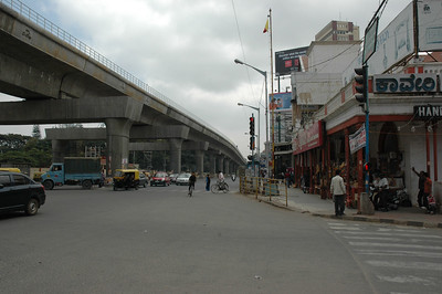 MG Road, with Cauvery at right