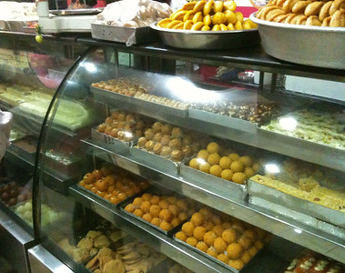 Aggarwal's sweet shop, south Delhi